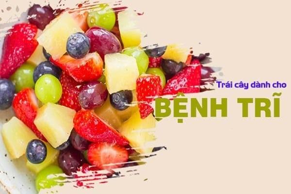 Những loại trái cây phù hợp với người mắc bệnh trĩ