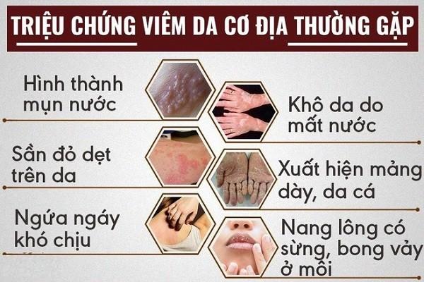 Các biến chứng của viêm da