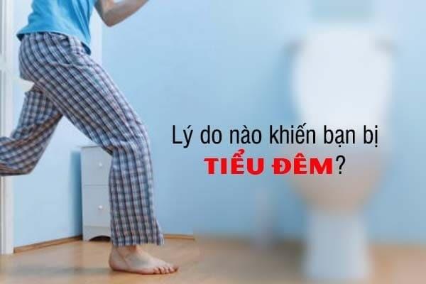 Tìm hiểu lý do nào khiến bạn bị tiểu đêm?