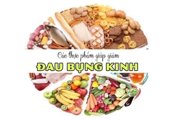 Lưu ý các thực phẩm giúp giảm các cơn đau bụng kinh