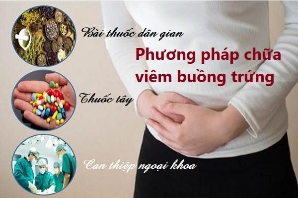Cách điều trị bệnh viêm buồng trứng an toàn hiện nay