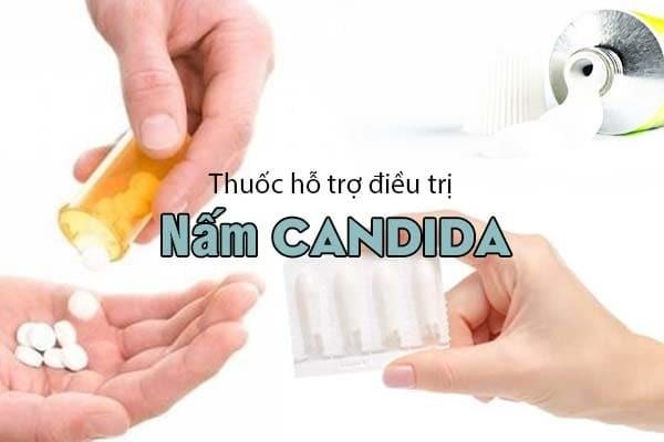 Hỗ trợ điều trị nấm Candida theo từng bộ phận mắc bệnh