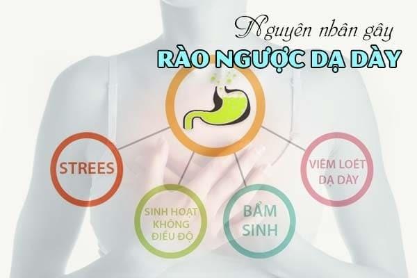 Nguyên nhân gây ra tình trạng trào ngược dạ dày