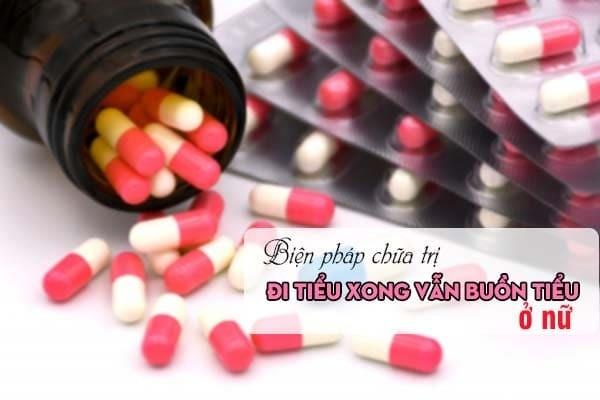 Biện pháp chữa bệnh gây đi tiểu xong vẫn bị buồn tiểu