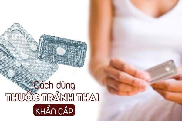 Đối với thuốc tránh thai khẩn cấp